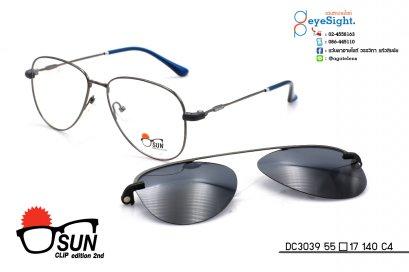 glasses SUN CLIP DC3039 55[]17 140 C4